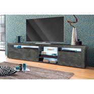 borchardt moebel tv-meubel breedte 200 cm grijs