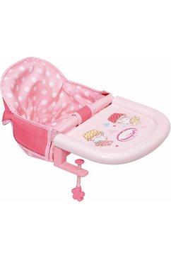 zapf creation poppen-tafelzitje, »baby annabell« roze