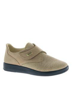 florett profylaxe-schoenen met comfortabele stretch inzet voor beige