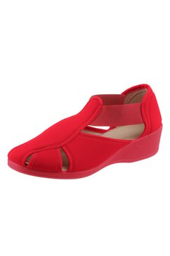 instappers in mocassinmodel rood