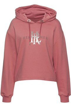 herrlicher hoodie »haven« roze