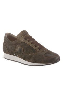 spieth  wensky sneakers met hartjesapplicatie bruin