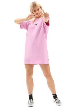 vans shirtjurk »center vee tee dress« roze