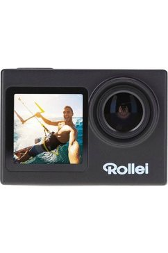rollei action cam 7s plus incl. 32gb sd-card zwart