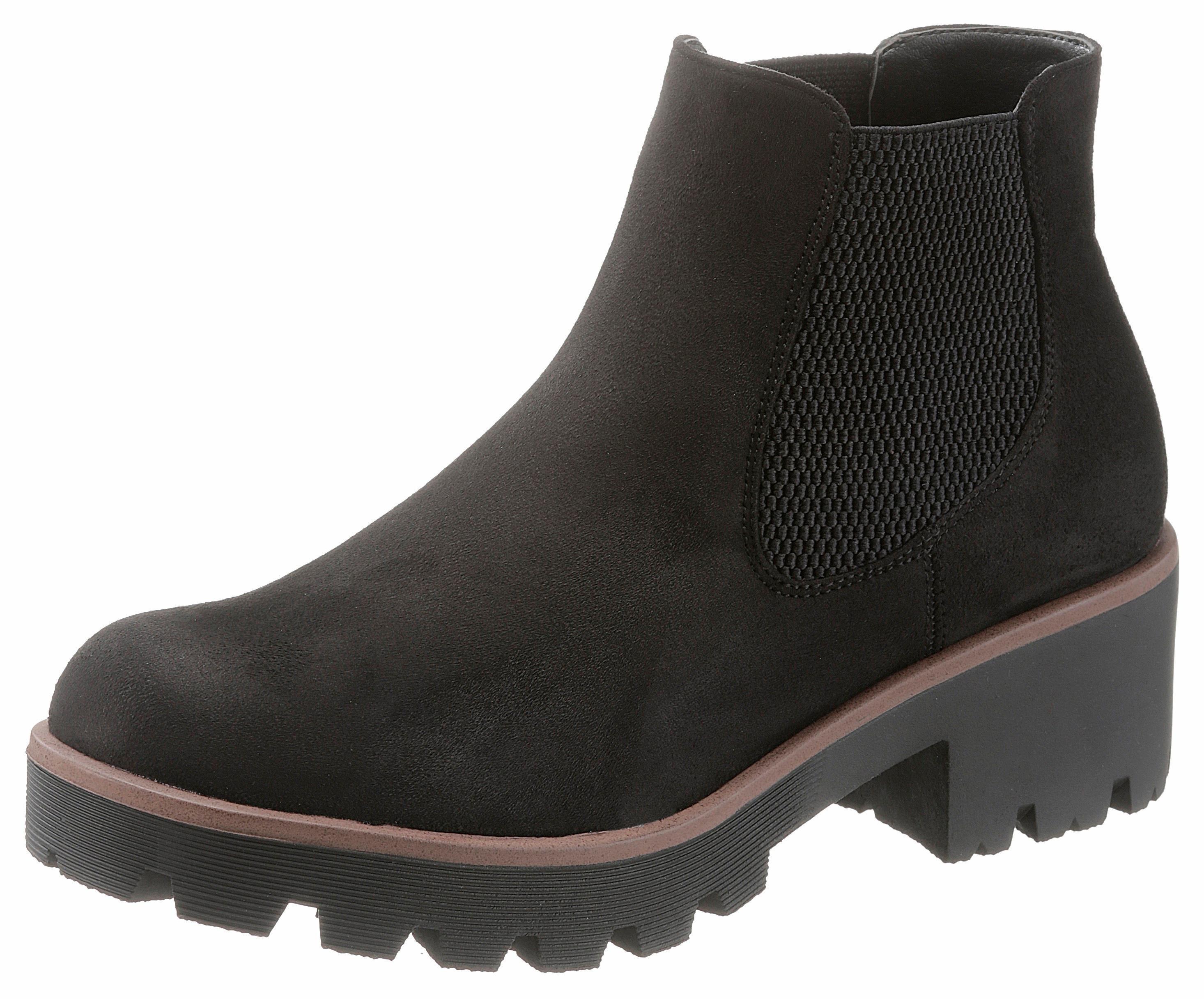 Rieker Chelsea-boots met brede stretchinzet nu online kopen bij OTTO