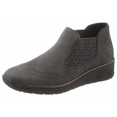 NU 20% KORTING: Rieker chelsea-boots