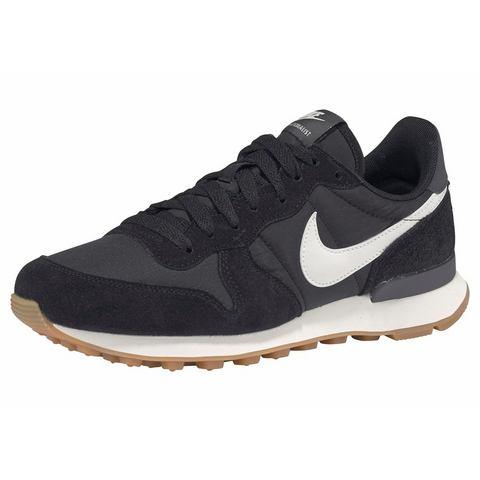 Nike Internationalist damessneaker zwart en wit