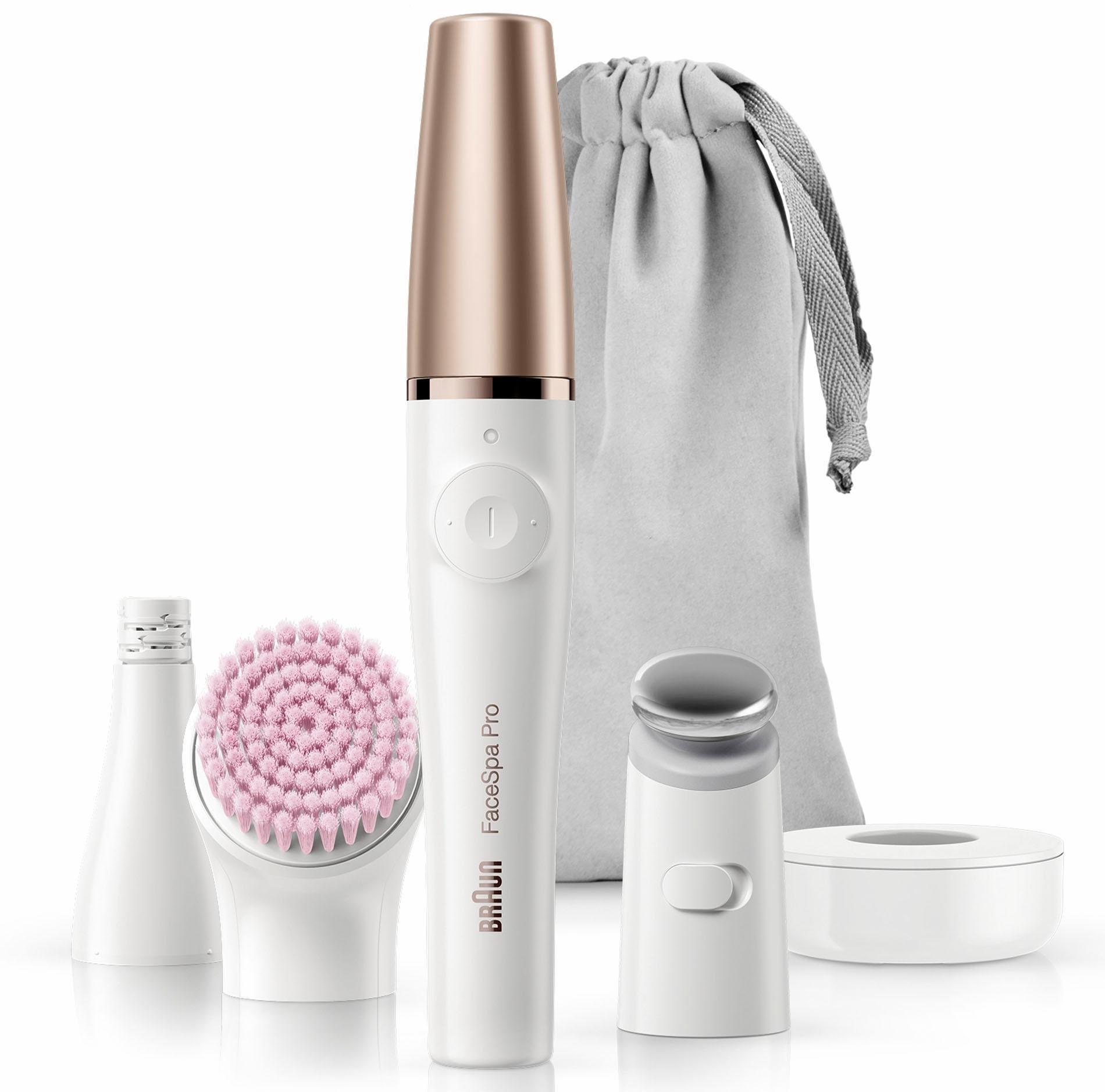 Braun gezichtsepilator FaceSpa Pro 912 met 3 extra's bestellen: 30 dagen bedenktijd