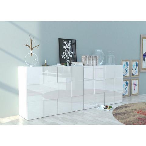 INOSIGN dressoir in 3D-look, breedte 241 cm