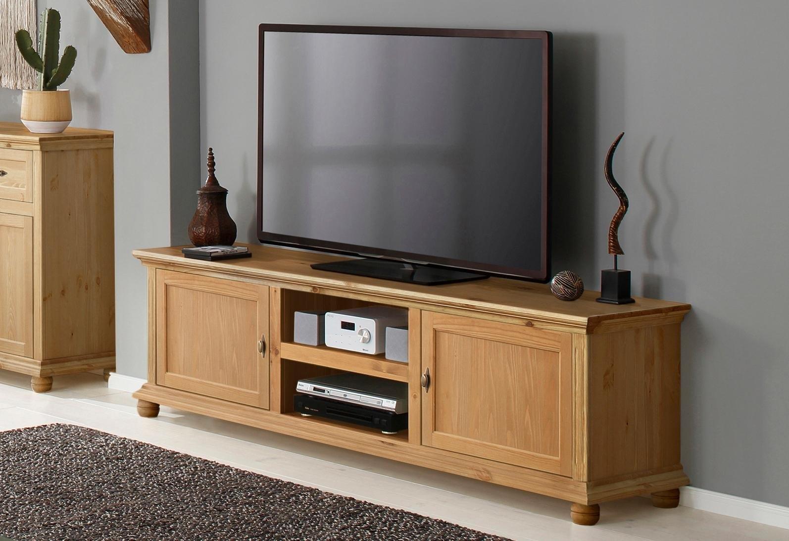 Meubels Massief Hout : Home affaire tv meubel »irena« massief hout in 2 verschillende