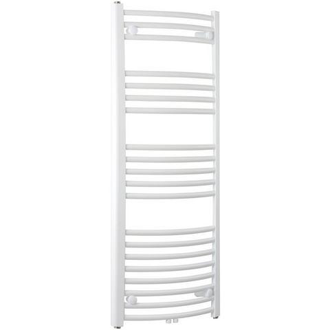 Badstuber Bari gebogen design radiator 118,8x60cm wit