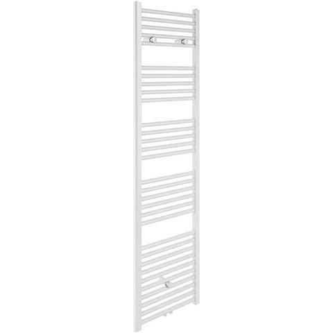 Badstuber Bari haddoek radiator 178,5x60cm wit midden-aansluiting