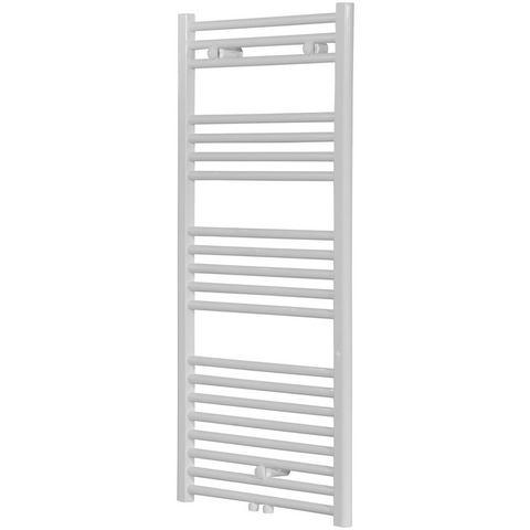 Badstuber Bari haddoek radiator 118,8x60cm wit midden-aansluiting