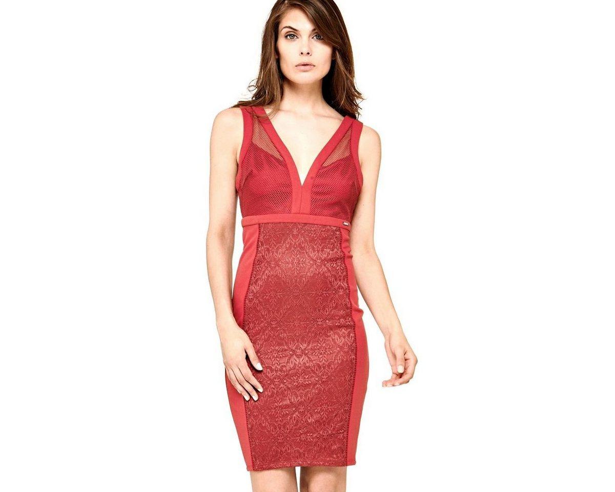 Guess jurk bovendeel van net rood