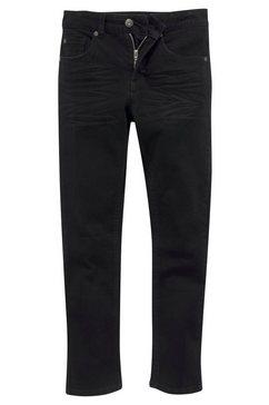 arizona stretchbroek regular fit met smalle pijpen zwart