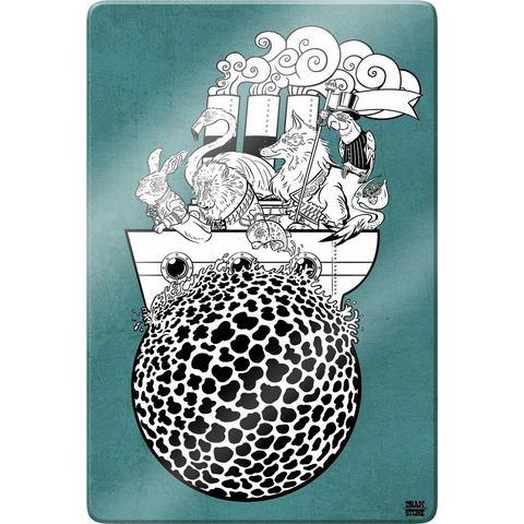 print op glas Drawstore Boattrip, Nils Bauman