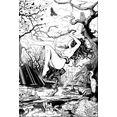 wall-art artprint op acrylglas drawstore - swampland 40-60 cm zwart
