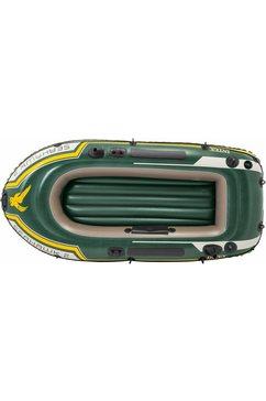 intex »seahawk 2« opblaasboot (met 2 peddels en luchtpompje) groen