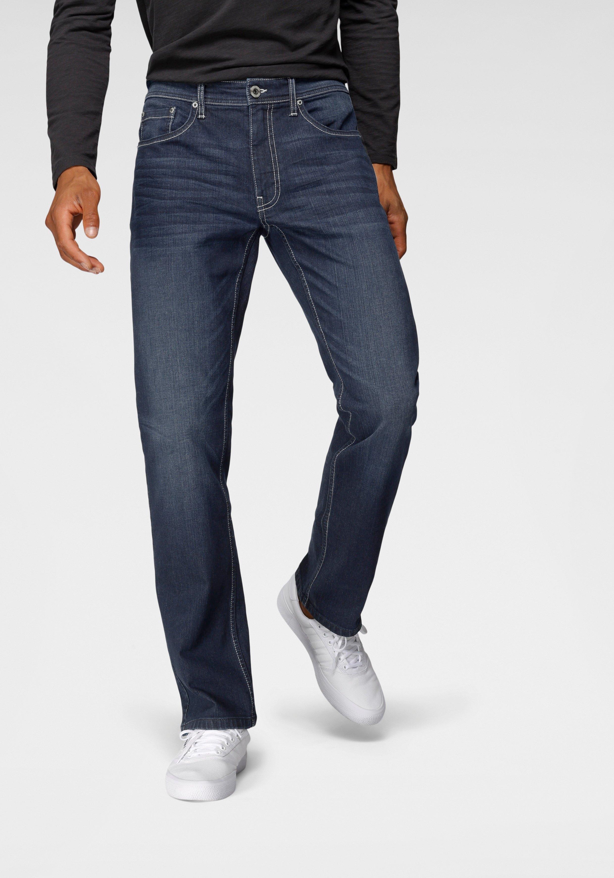 John Devin straight jeans met stretch veilig op otto.nl kopen