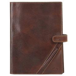 piké notitieboek plantaardig gelooid bruin