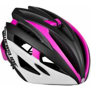 powerslide helm, kinderen, »race attack white - pink« wit