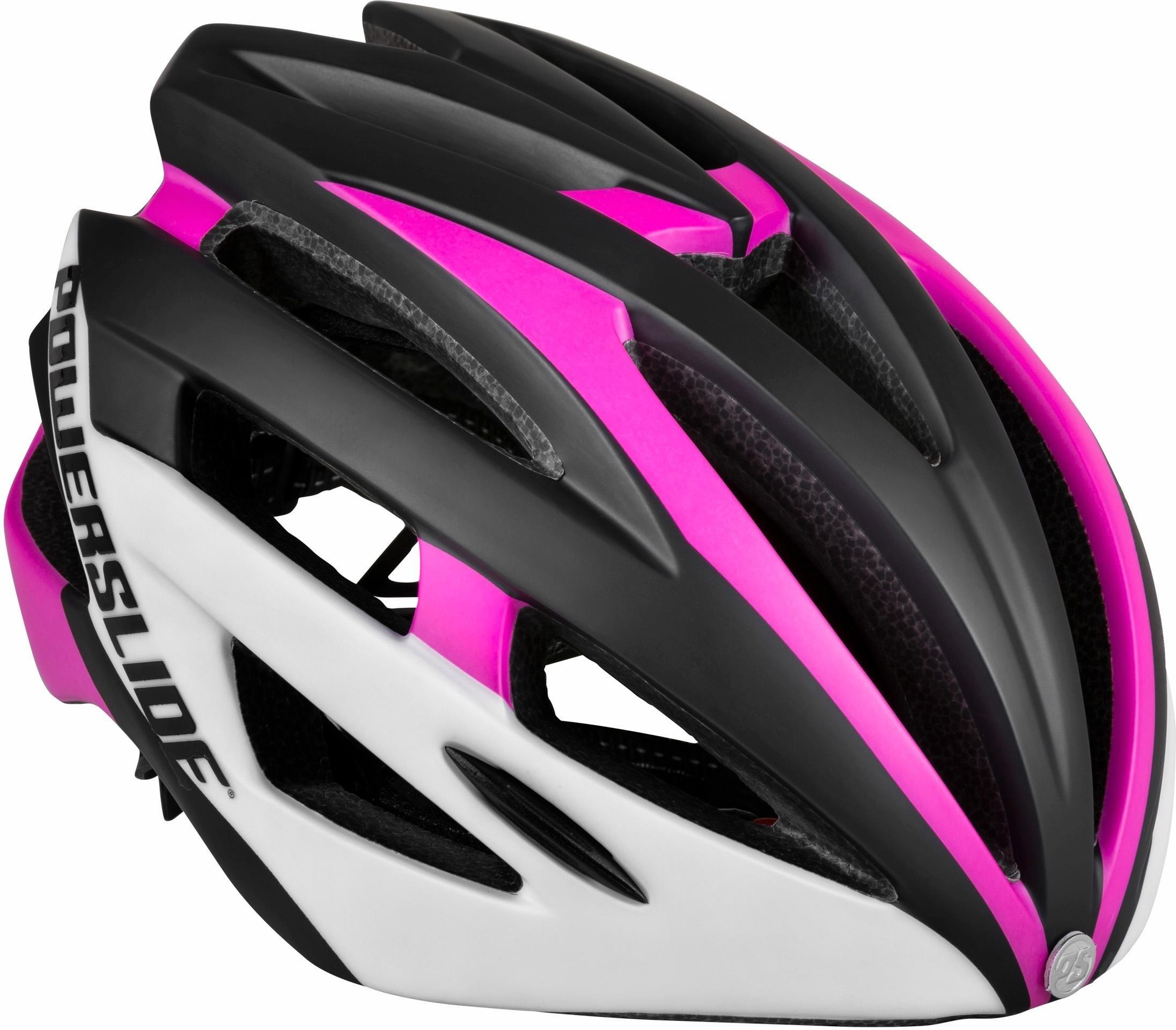 Powerslide helm, kinderen, »Race Attack White / Pink« - verschillende betaalmethodes