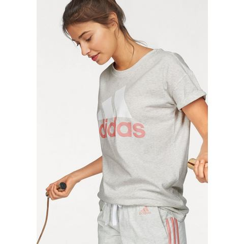 NU 20% KORTING: adidas Performance T-shirt ESSENTIALS LINE LO TEE
