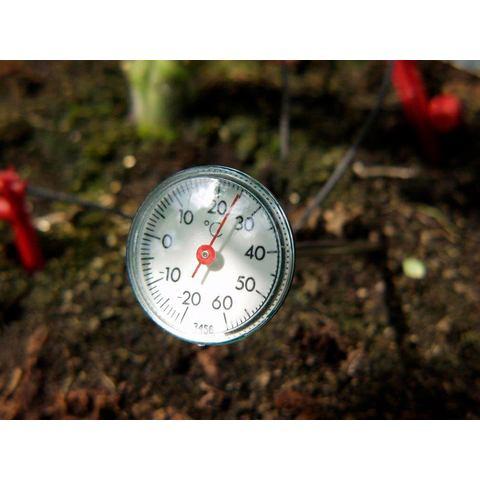 VITAVIA Thermometer Ter controle van de grondtemperatuur