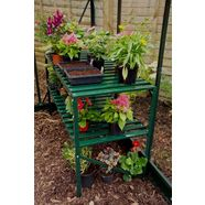 vitavia plantentafel groen, bxdxh: 121x54x76 cm groen