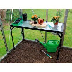 vitavia plantentafel zwart, bxlxh: 54x121x76cm zwart