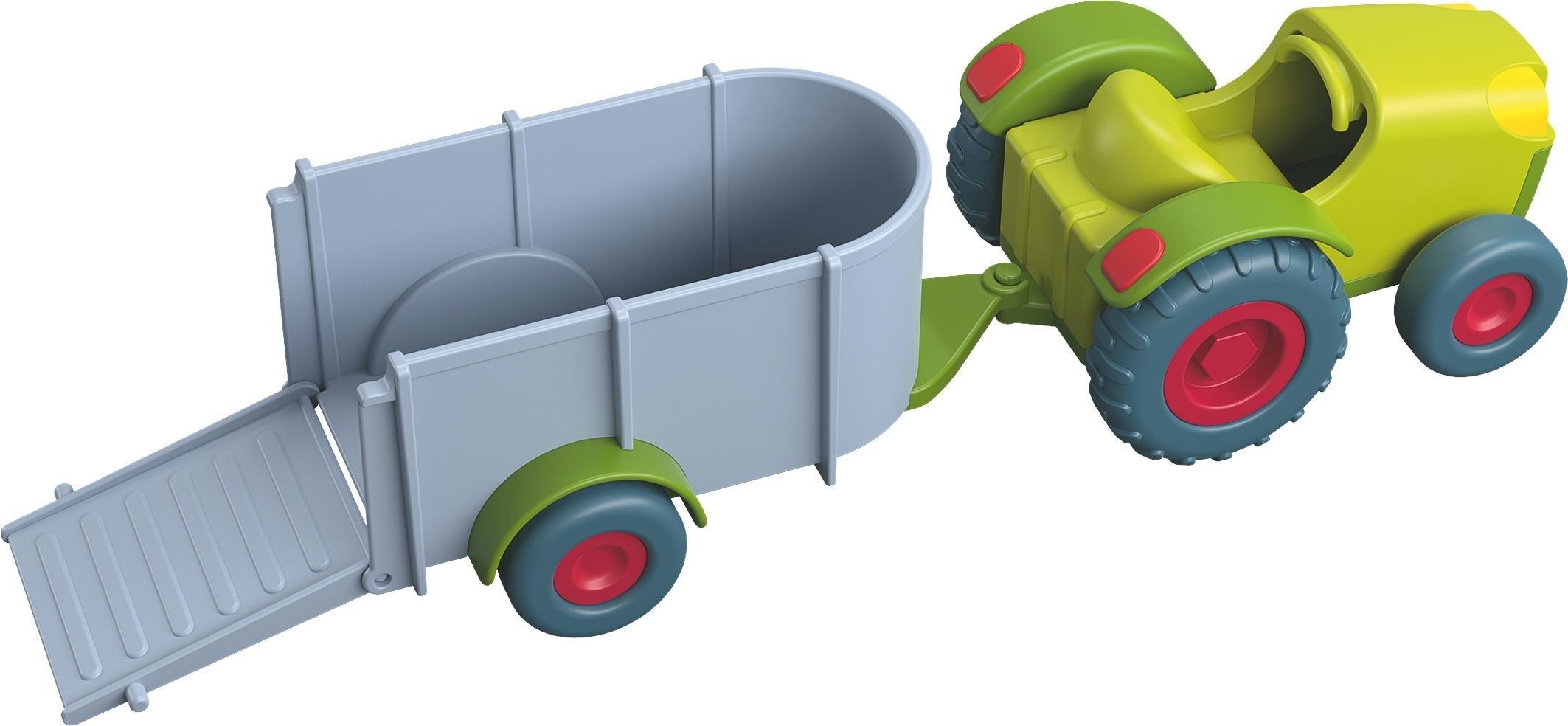 Haba speelgoedauto, »Little Friends - tractor met aanhanger« voordelig en veilig online kopen