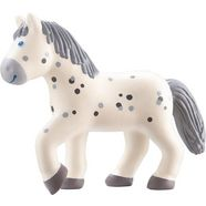 haba speelfiguur, »little friends - paard pippa« wit