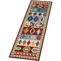 loper, »kira«, freundin home collection, rechthoekig, hoogte 5 mm, machinaal getuft multicolor