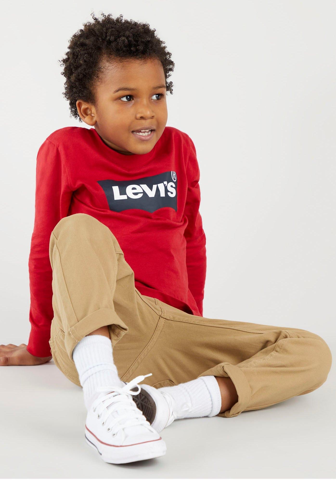 Levi's Kidswear shirt met lange mouwen LVB L/S BATWING TEE nu online bestellen