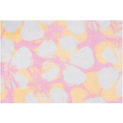 mat, »paulina«, freundin home collection, rechthoekig, hoogte 7 mm, machinaal getuft roze