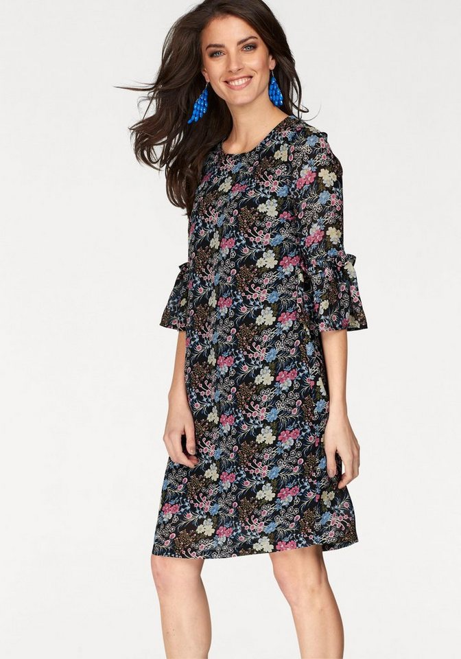 NU 21% KORTING: Aniston gedessineerde jurk multicolor