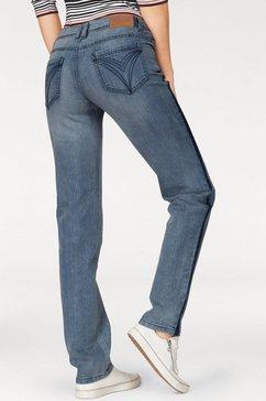 cheer straight jeans blauw