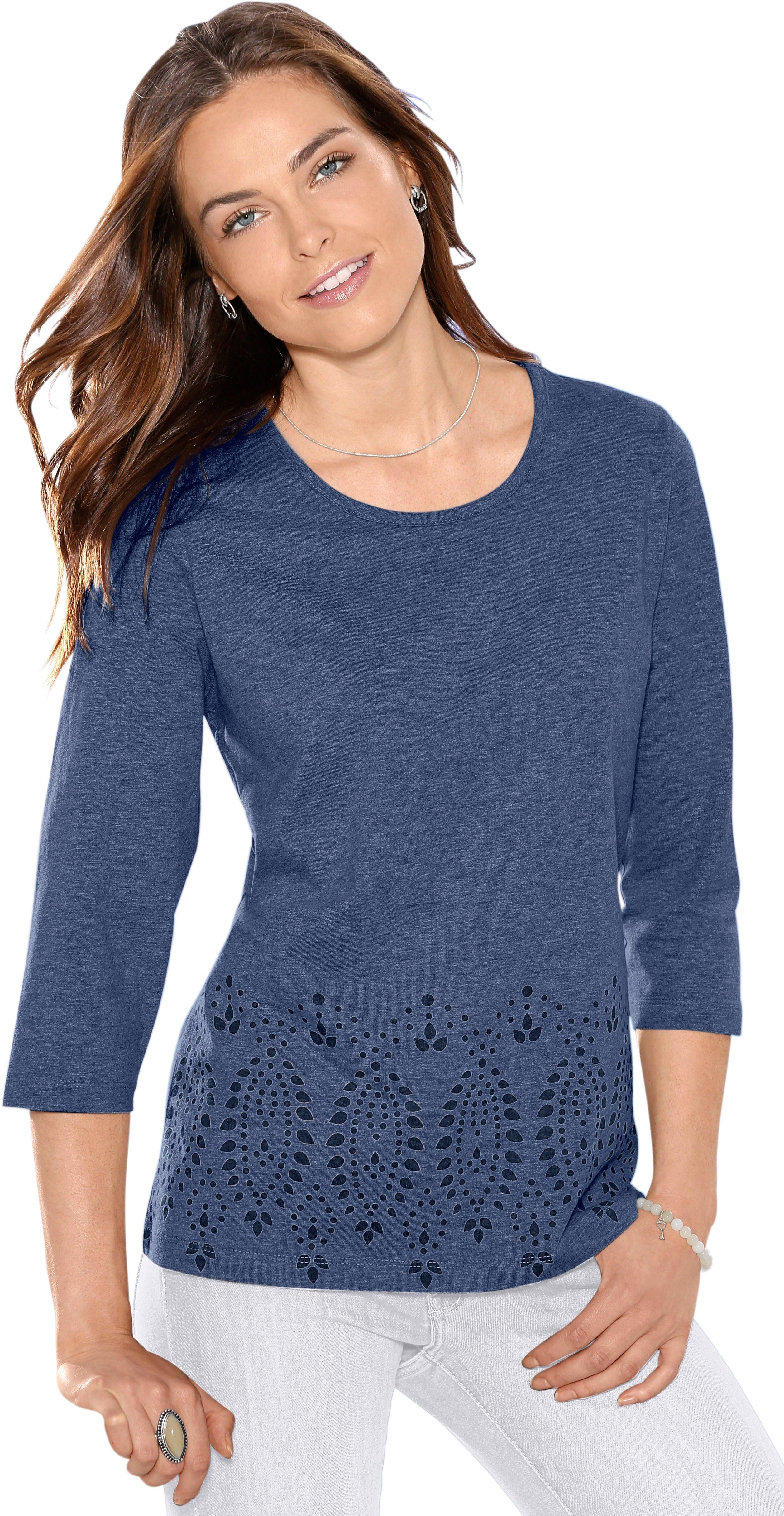 Classic Basics Classic shirt met mooie randprint goedkoop op otto.nl kopen