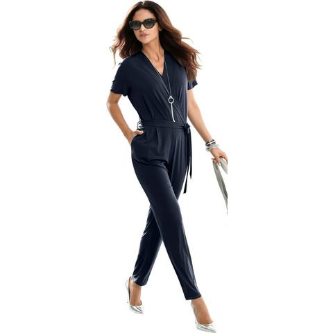 Alessa W. NU 15% KORTING: Alessa W. jumpsuit in elegante, flatteuze wikkel-look