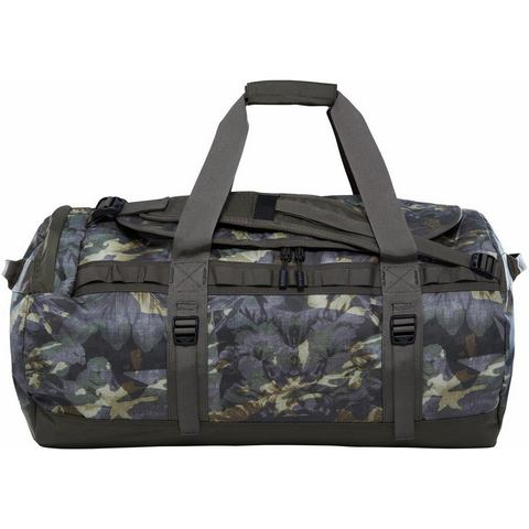 The North Face Base Camp Duffel M Green Tropical Camo-Taupe