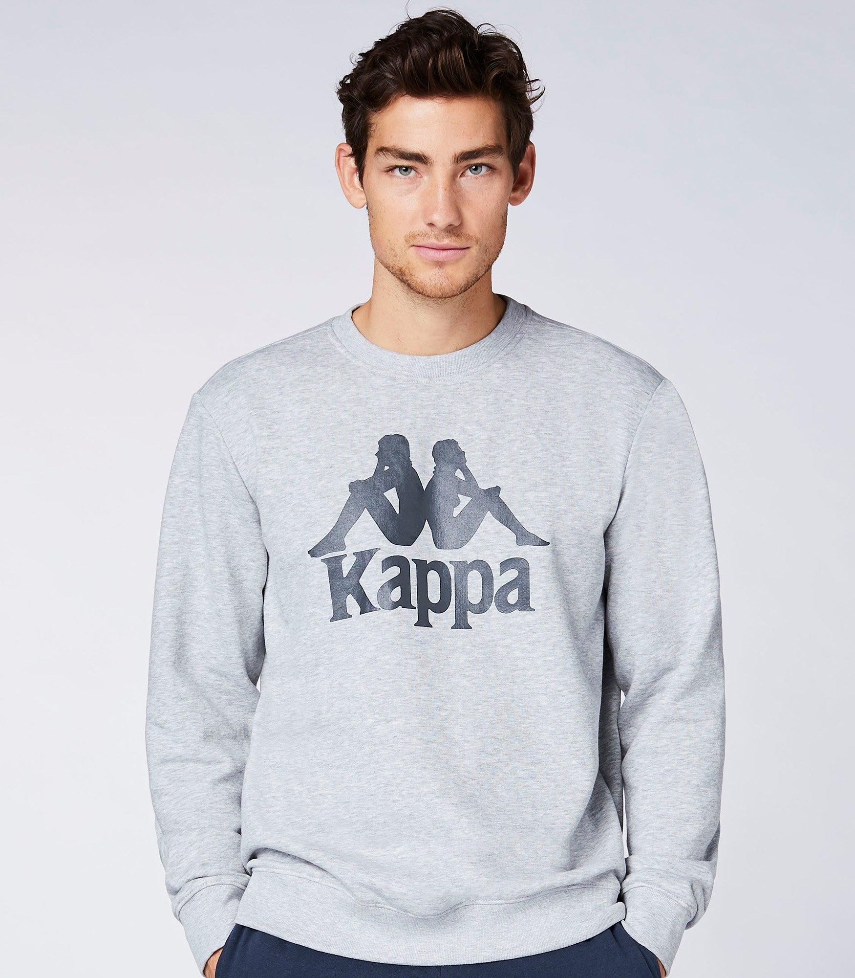 Kappa sweatshirt AUTHENTIC SERTUM met trendy ronde hals goedkoop op otto.nl kopen
