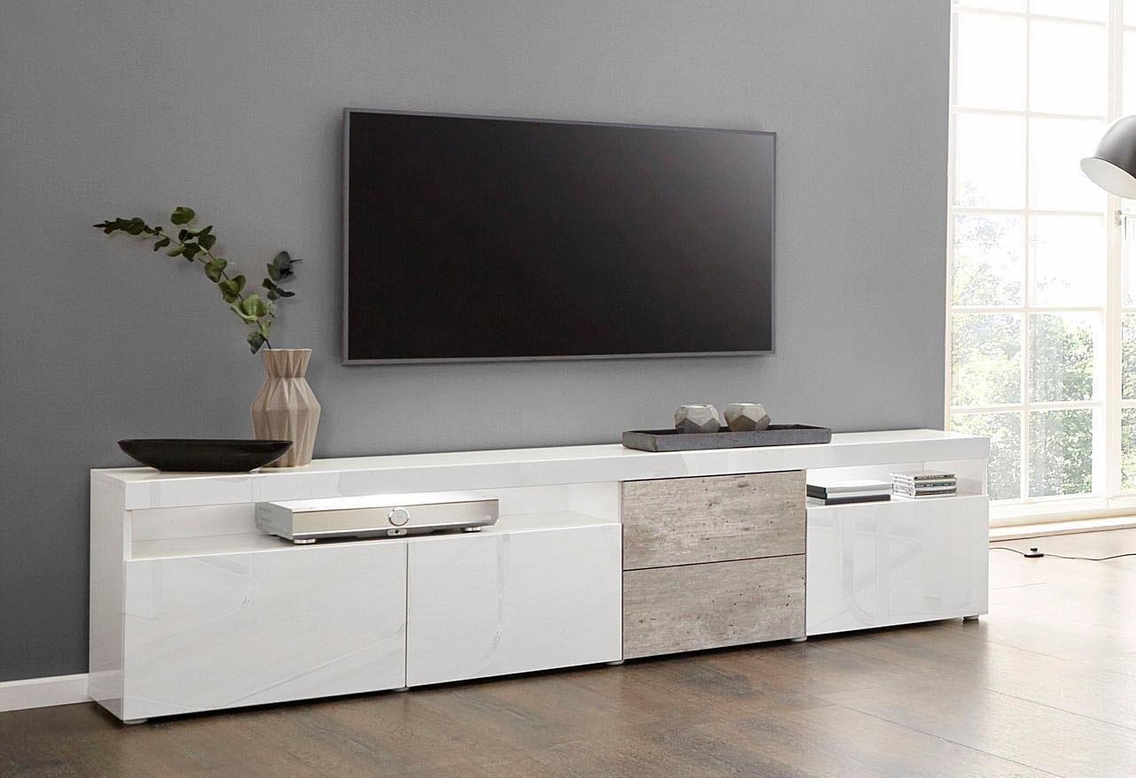 borchardt Möbel tv-meubel Kaapstad Breedte 200 cm met 2 lades veilig op otto.nl kopen
