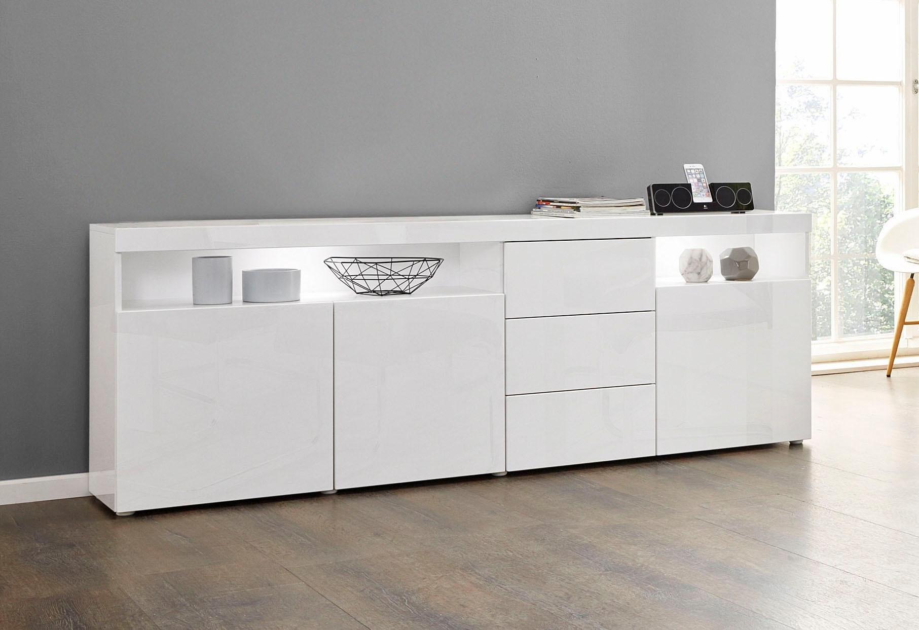 borchardt Möbel dressoir Kaapstad Breedte 200 cm met 3 lades bij OTTO online kopen