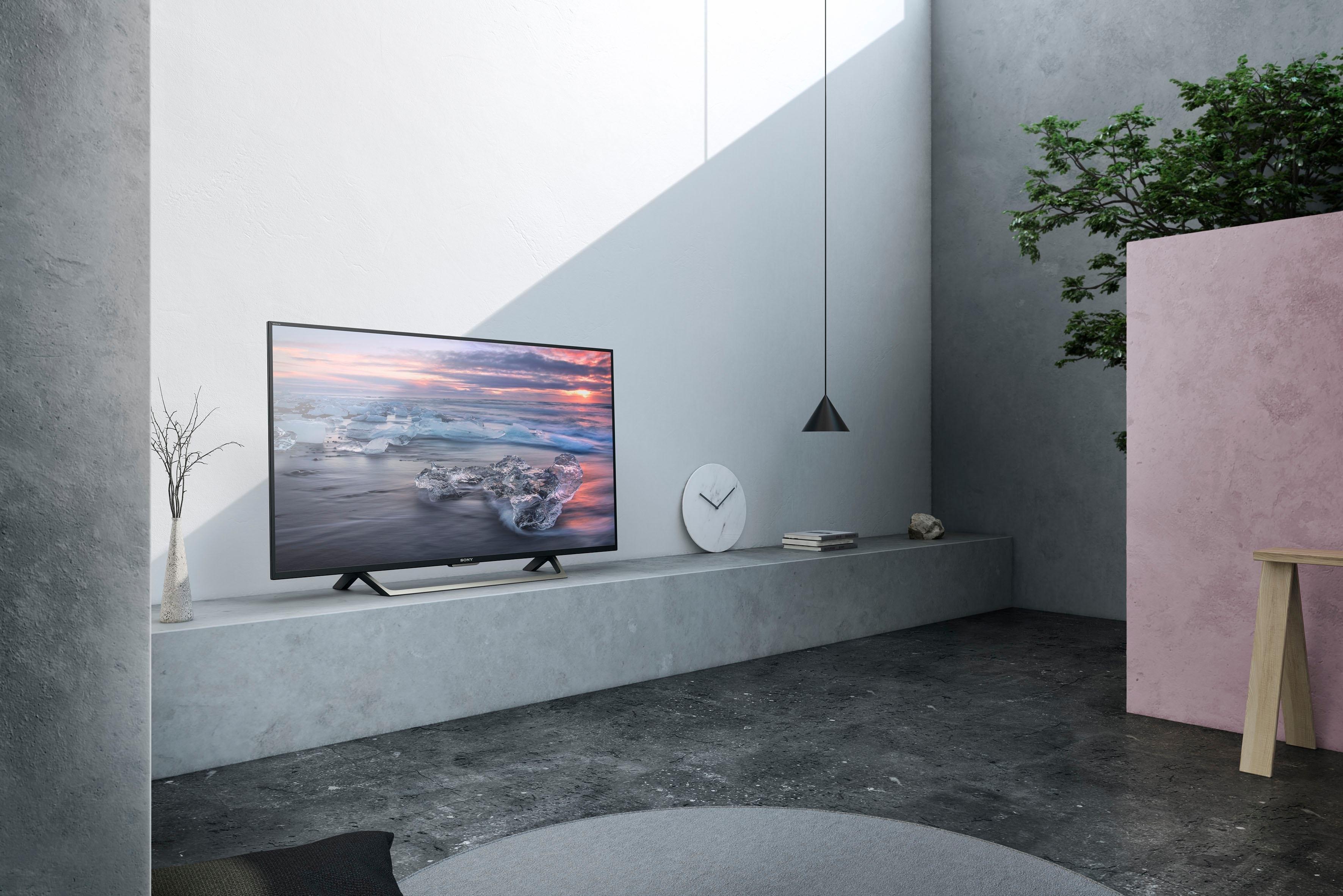 sony kdl49we755baep led tv 123 cm 49 inch full hd smart tv in de online shop otto. Black Bedroom Furniture Sets. Home Design Ideas