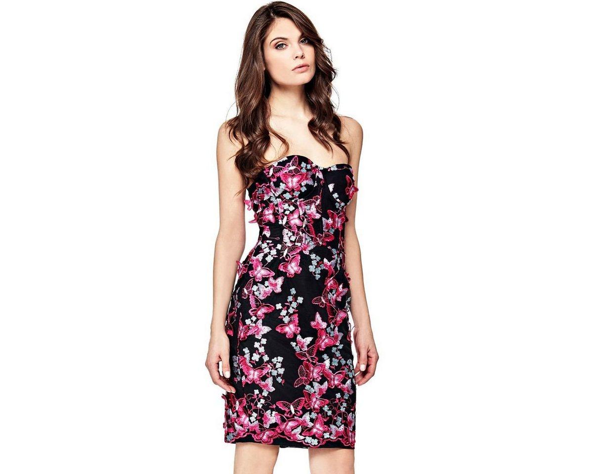 Guess jurk met vlinderdetails rood