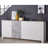 homexperts »zabona« dressoir, breedte 200 cm wit