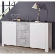 homexperts »zabona« dressoir, breedte 165 cm wit