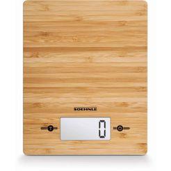 soehnle digitale keukenweegschaal, »bamboo« beige