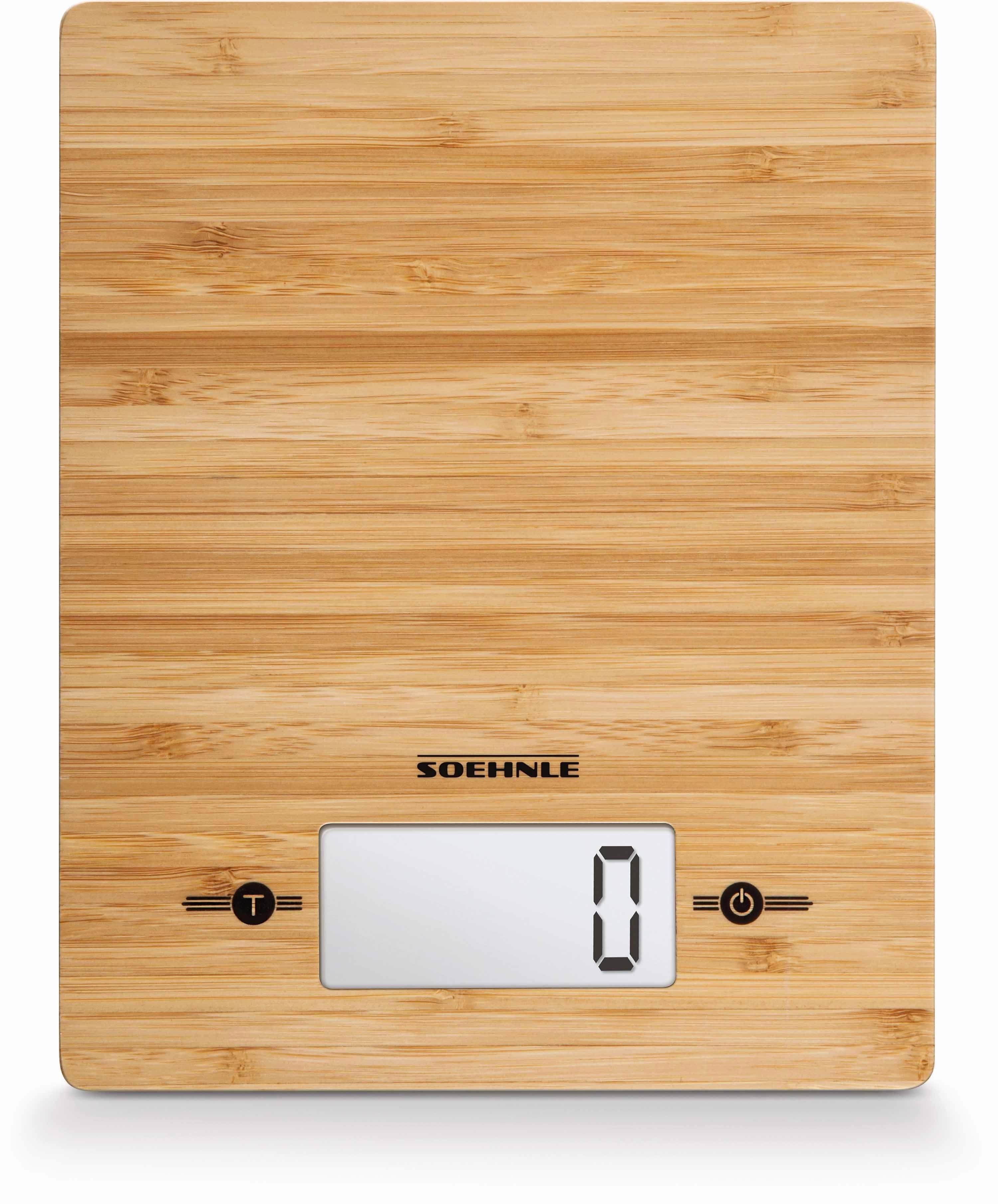 Soehnle digitale keukenweegschaal, »Bamboo« goedkoop op otto.nl kopen