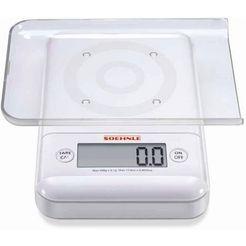 soehnle fijnweegschaal ultra 2.0 weegt in stappen van 0,1 g (3-delig) wit